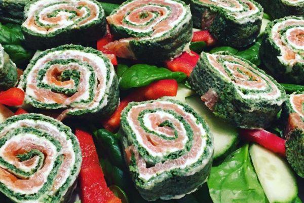 Lakseroulade med spinat – Nem forret med WOW-faktor!