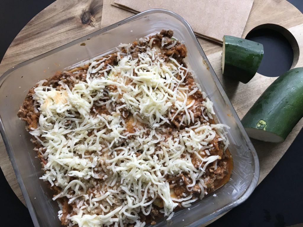Hjemmelavet Lasagne med squash plader 3