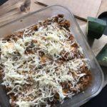 Hjemmelavet Lasagne med squash plader 5