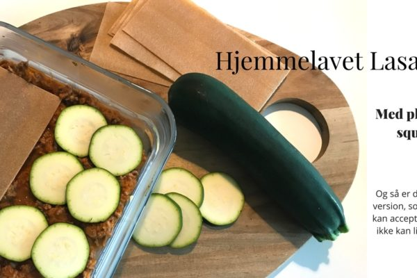 Hjemmelavet Lasagne med squash plader