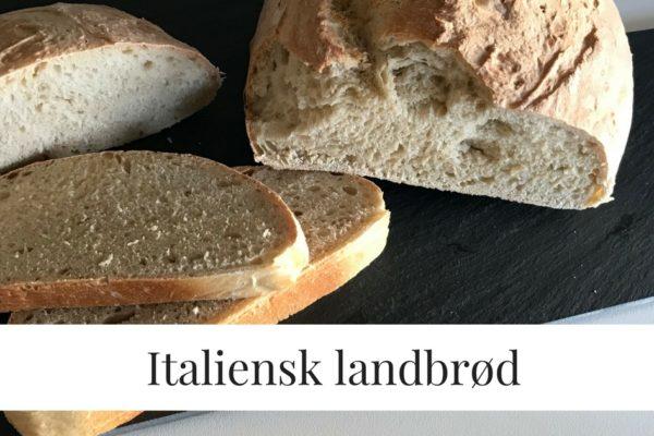 Italiensk Landbrød, hjemmebag er bare bedre