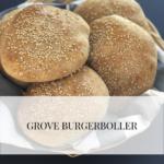 Grove burgerboller til grillsæsonen 5