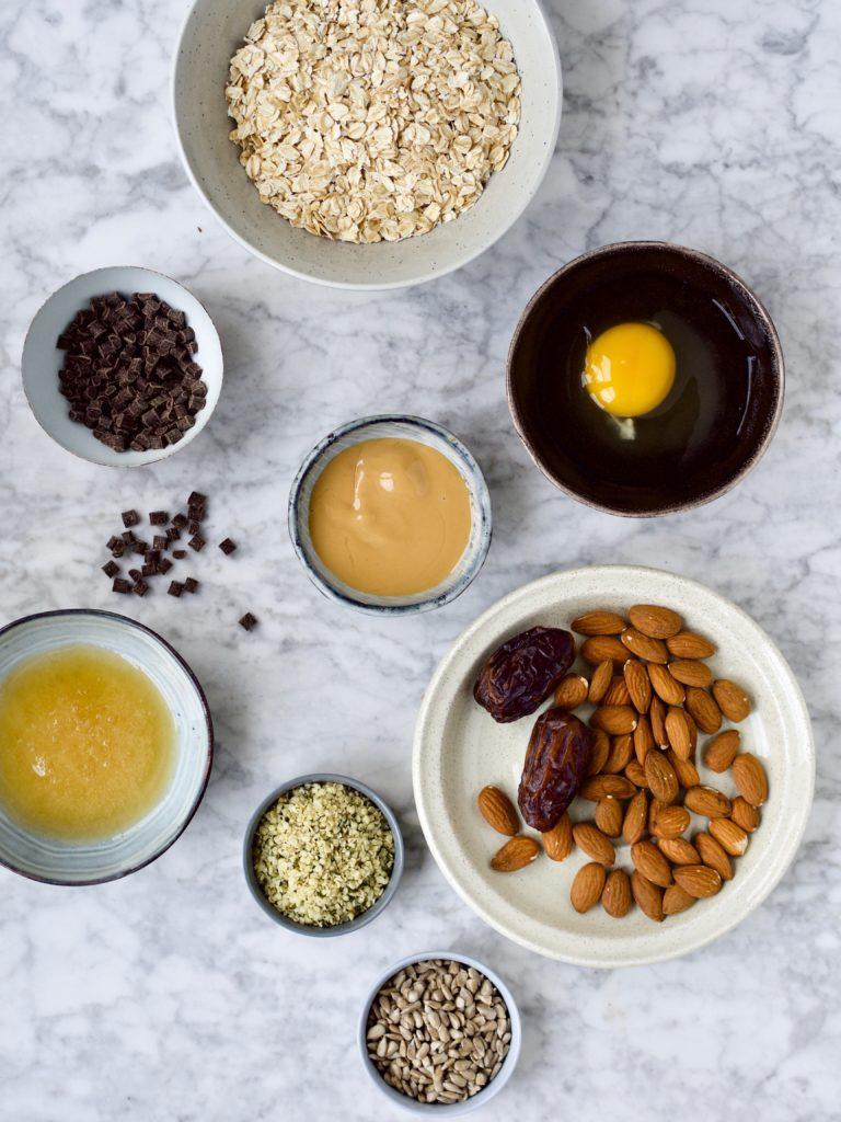Honning, dadler og chokolade
