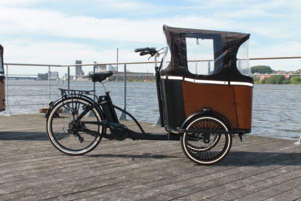 Elladcyklen er familiens nye transportmiddel
